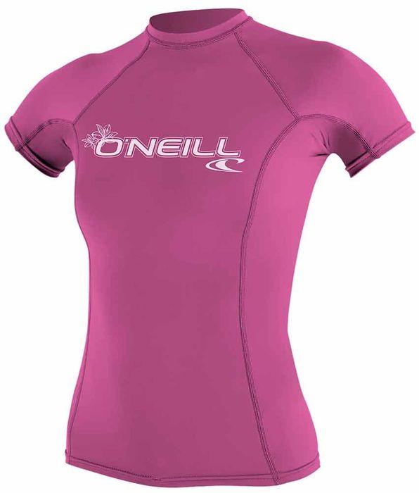 Dusty Blue Surf O/'Neill Basic Skins S//S Rashguard T-Shirt